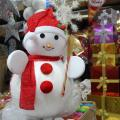 Fiberglass or silicon rubber Cartoon Snowman Christmas Statues Dragon7-5