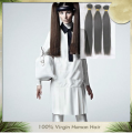 Unprocessed virgin Silky straight 100% chinese remy hair-Thousand2-4
