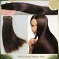 Unprocessed virgin filipino hair 5a grade  straight human hair weft-Thousand8-4