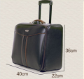 Hot Sale 2 Wheels Built-in PU Soft Luggage-BL2-2