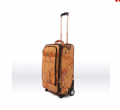 Travel Trolley Luggage- Fashion Man and Lady Bussiness and Leisure Vintage Universal Wheel Travel Trolley Luggage-BL10-5