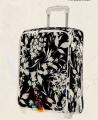 Girl Sky Travel black trolley leather luggage bag-BL2-3