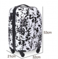 Light weight eminent travel luggage suitcase China factory-BL5-2