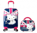 Warterproof Cute Trendy Travel Spinner Luggage Sets for Girls-BL6-2