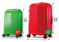 2014 Newest trolley Trendy ABS+PC Spinner Japan Non-toxicSuitcases-BL7-1