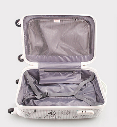 Upright hard side abs light suitcase-BL7-4