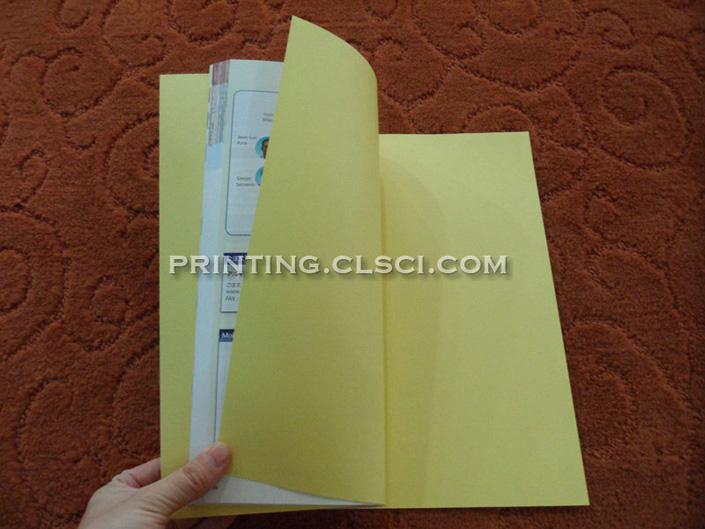 Textbook printing on matte art paper CNP4-4