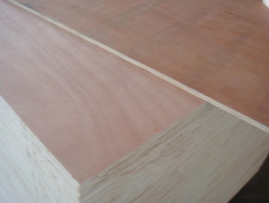 okume veneer plywood for furniture with poplar core E2 glue wood1-8